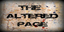 The Altered Page Banner