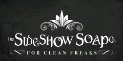 Sideshow Soap Co Banner