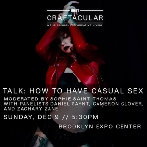 FREE TALK: How to have casual sex, moderated by Sophie St. Thomas