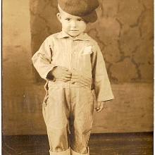 Antique photo of Little Boy